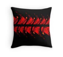 Firewheel dance Throw Pillow