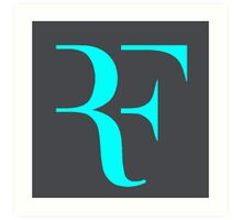 RF logo Art Print