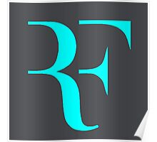 RF logo Poster