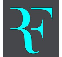 RF logo Photographic Print
