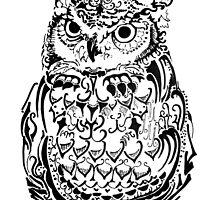 Ornate Owl by Lisa Pike