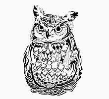 Ornate Owl Tank Top