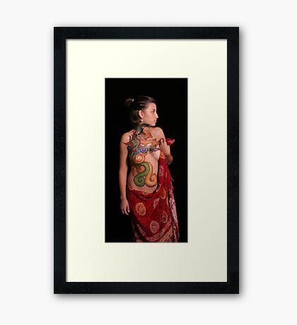 mayan Framed Print