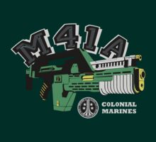 M41A Pulse Rifle Aliens Edition by theycutthepower
