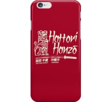 Hattori Hanzo T-Shirt iPhone Case/Skin