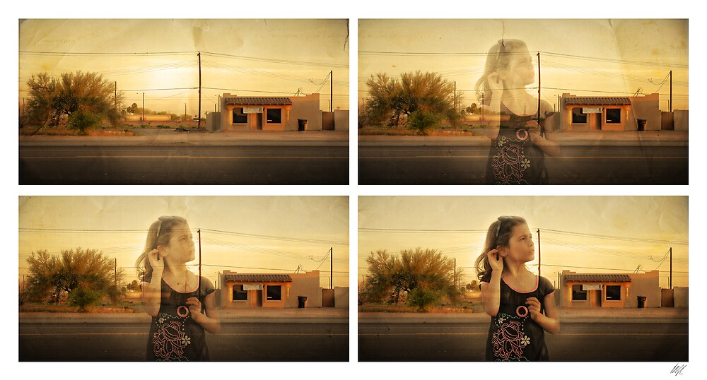 Listening to desolation by Paul Vanzella