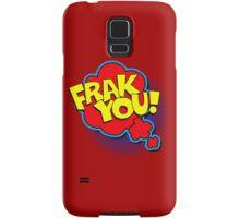 Funny Superhero comic word Frak You! Samsung Galaxy Case/Skin