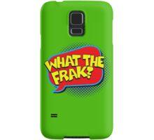 Funny Superhero comic word What the Frak? Samsung Galaxy Case/Skin
