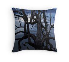 Tangled Tree Throw Pillow