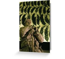 The Soldier Waits Greeting Card
