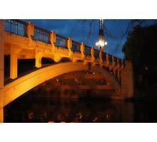 War Memorial Bridge Photographic Print