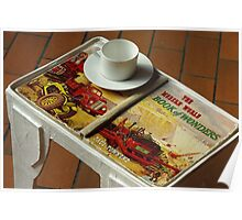 coffee table book Poster