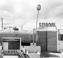 Frank has a car wash by Philip  Rogan