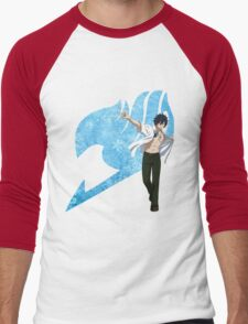 Gray Fairy Tail 2 Men's Baseball ¾ T-Shirt