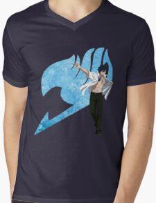 Gray Fairy Tail 2 Mens V-Neck T-Shirt