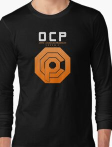 Omni Consumer Products (OCP) Long Sleeve T-Shirt