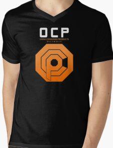 Omni Consumer Products (OCP) Mens V-Neck T-Shirt