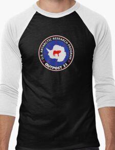 U.S. Outpost 31 Research Installation Men's Baseball ¾ T-Shirt