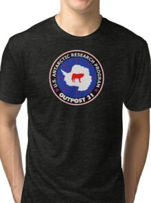 U.S. Outpost 31 Research Installation Tri-blend T-Shirt