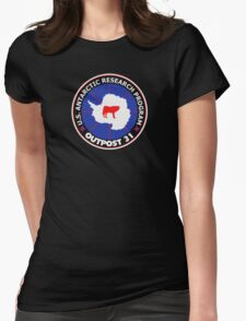 U.S. Outpost 31 Research Installation Womens Fitted T-Shirt