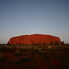 Nightfall at Uluru by Erland Howden