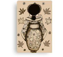The Silk Princess Canvas Print