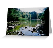 Theres Gold in them hills! Greeting Card