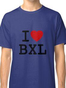 I Love Bxl Classic T-Shirt