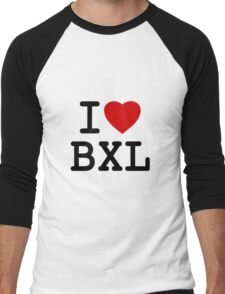 I Love Bxl Men's Baseball ¾ T-Shirt
