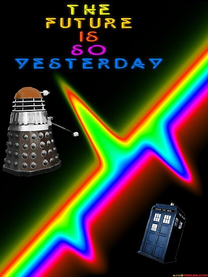 The Future Is So Yesterday - Doctor Who by muz2142