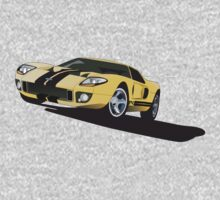 Ford GT40 by Greg Hamilton