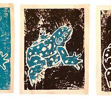 Blue Amphibian by Chloé Arzuaga