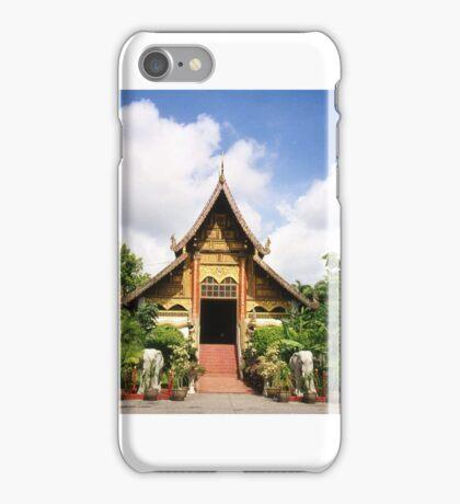 Wat Chiang Rai Thailand iPhone Case/Skin