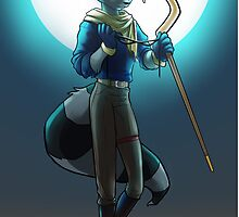 Sly Cooper by BerylAllee