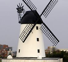 Lytham windmill 2 by Barry Norton