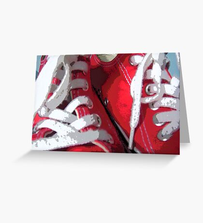 sneakers Greeting Card