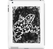Black Amphibian iPad Case/Skin