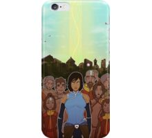 The Legend of Korra: The Last Stand iPhone Case/Skin