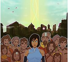 The Legend of Korra: The Last Stand by Sam Luu