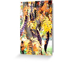 Bean Tree Greeting Card