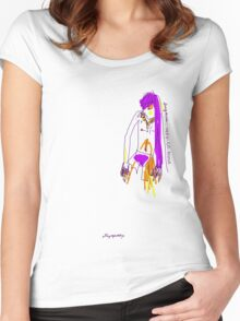 'Indy-Go-Anna' (Drag Racer Series) Women's Fitted Scoop T-Shirt