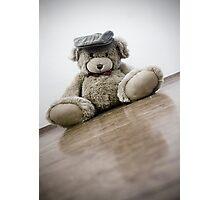 Sliding Bear Photographic Print