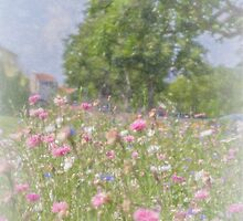 Wildflower Impressionism by Elaine Teague