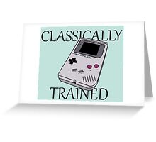 classically trained Greeting Card