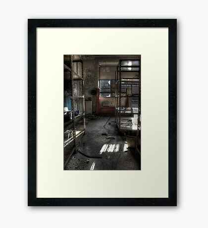 Empty Stores Framed Print