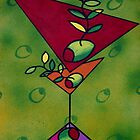 Green Funky Martini by Nathalie Van