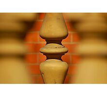 Pillar Of The Community Photographic Print