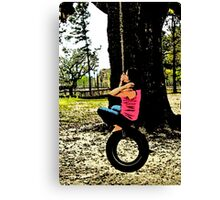 Swing! Canvas Print