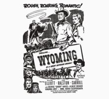 Wyoming 1947 Movie Poster Kids Clothes