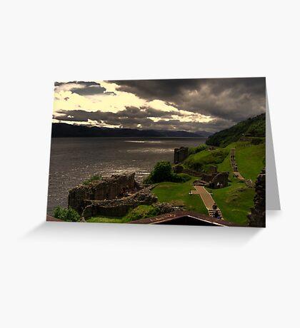 Urquhart Castle  Loch Ness Greeting Card